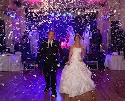 początek imprezy weselnej