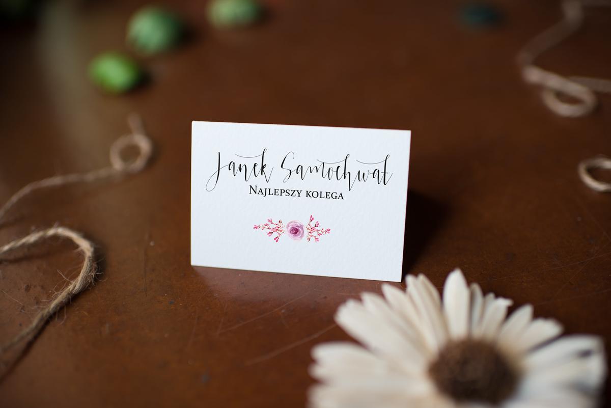 winietka na wesele rustykalna